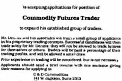 turtle trader want ad