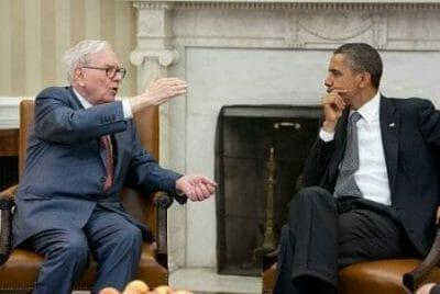 buffett and obama